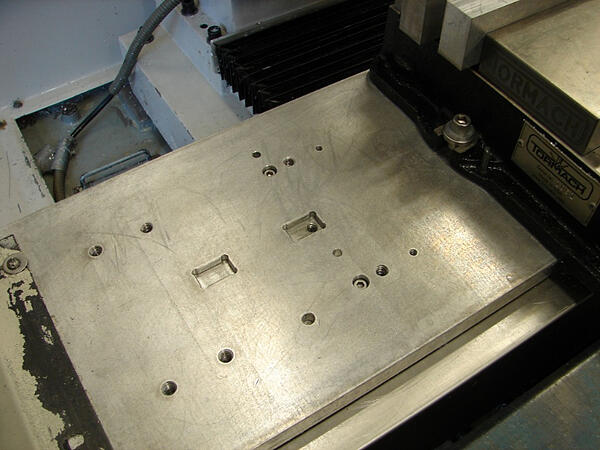 4th Axis Pockets on Fixture Plate