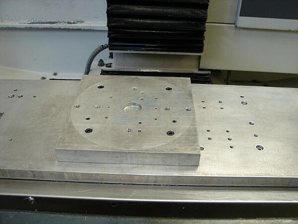 3-Jaw Chuck Mounting Plate