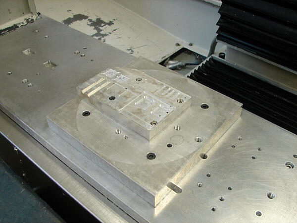 Stacked Fixture Plates