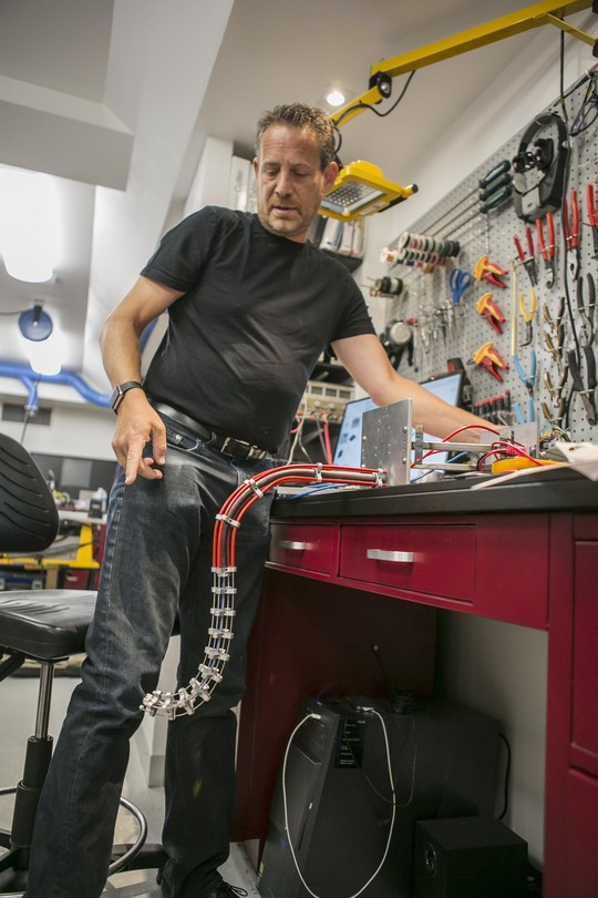 Mike Dubno and his PCNC 440