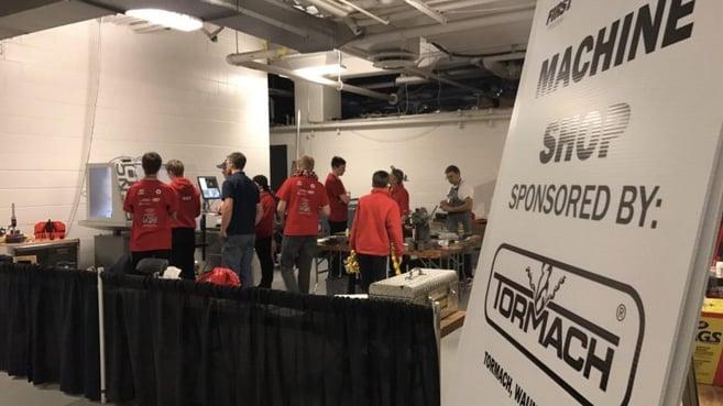 Machine shop at FIRST Robotics
