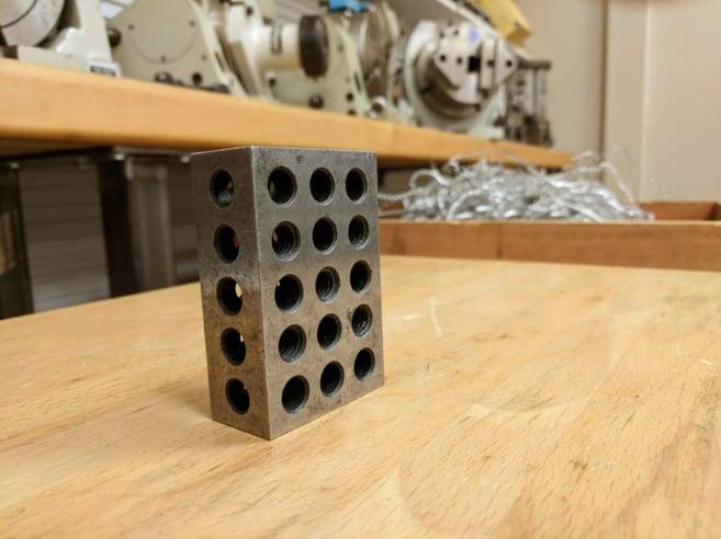 CNC workbench tools 123 block