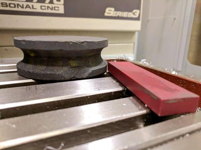CNC workbench tools machinist stone