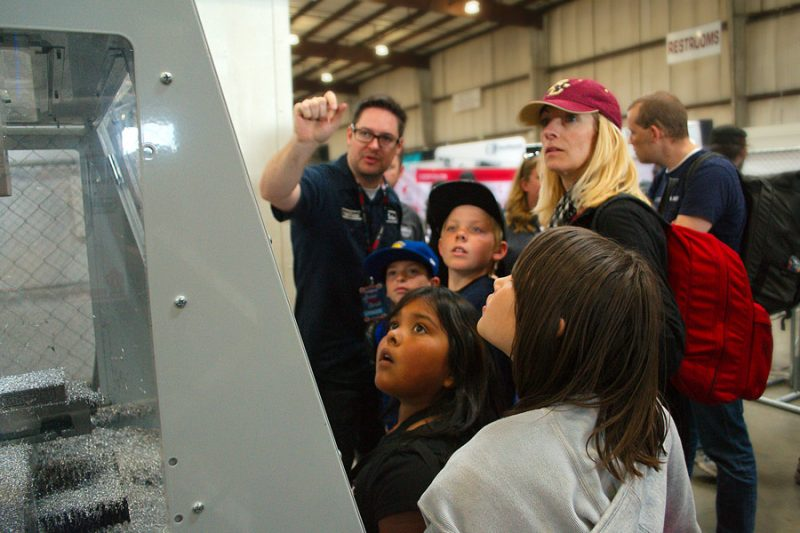 Tormach at Bay Area Maker Faire