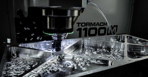 Tormach-1100M-Cutting-aerospace-titanium
